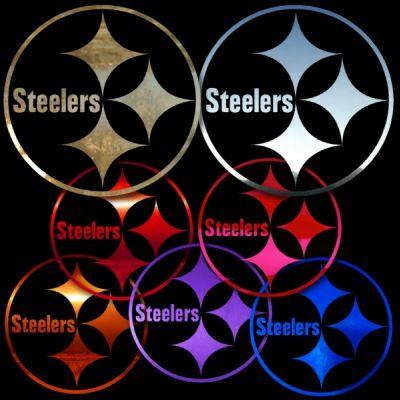 Steelers 8 inch Auto Window Sticker / Sign Banner Decal