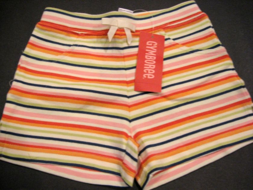 NWT Gymboree BEACH SHACK Shirt Tank Top Shorts 3 4 4T