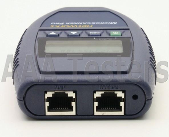 Fluke NetTool Microscanner Pro LinkRunner Network Test